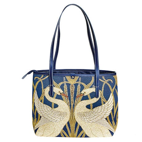 Swans Tapestry Tote