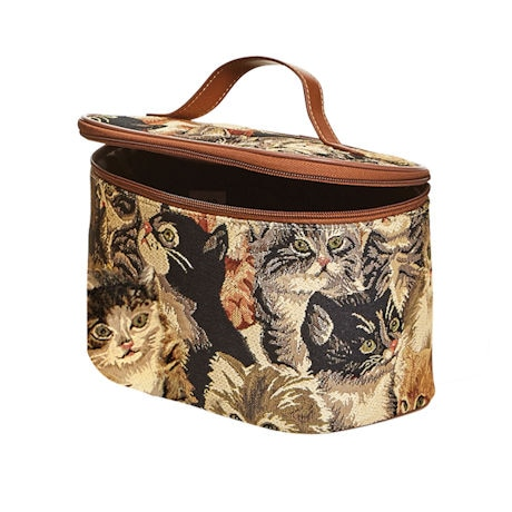 Cats Tapestry Toiletry Bag