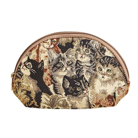 Cats Tapestry Cosmetics Pouch