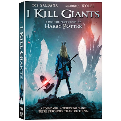 I Kill Giants DVD & Blu-ray