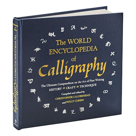 World Encyclopedia of Calligraphy Hardcover Book
