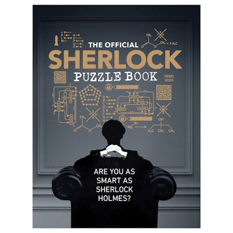 Official Sherlock Puzzle Paperback Book
