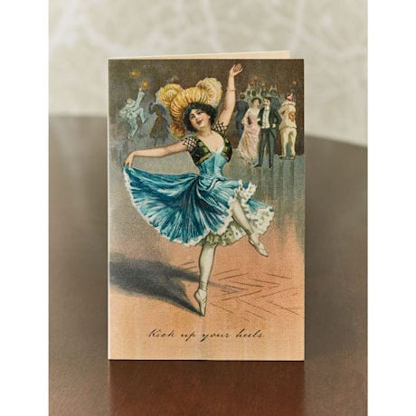 Kick Up Your Heels Note Cards
