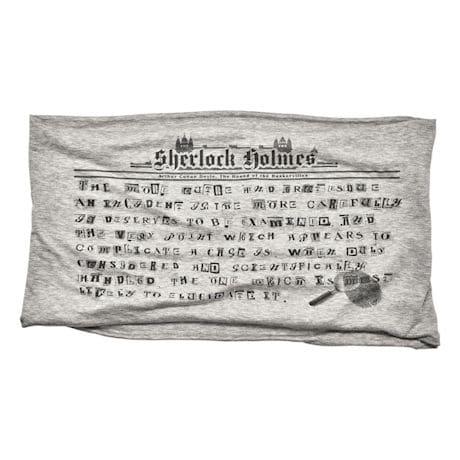 Sherlock Holmes Infinity Scarf