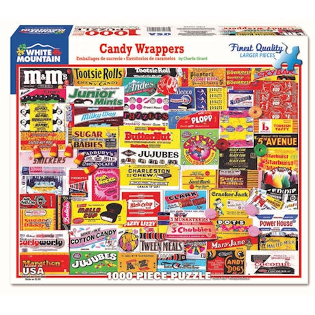 Classic Candy Jigsaw Puzzle