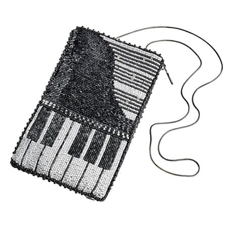 Mary Frances Grand Piano Crossbody Bag