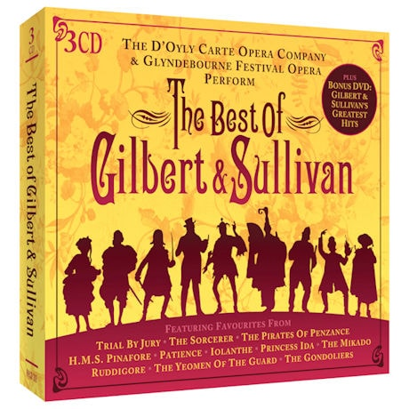 The Best of Gilbert & Sullivan CD & Bonus DVD