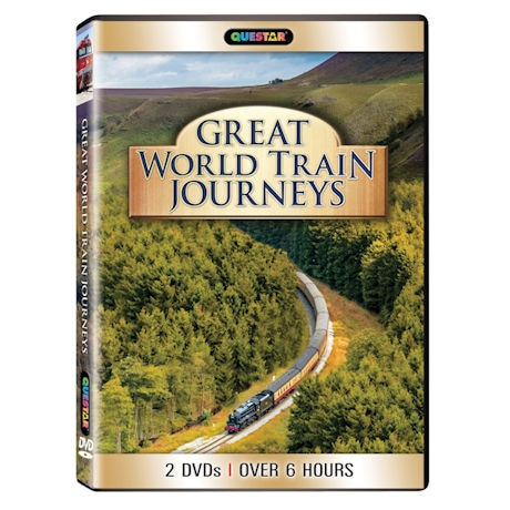 Great World Train Journeys DVD