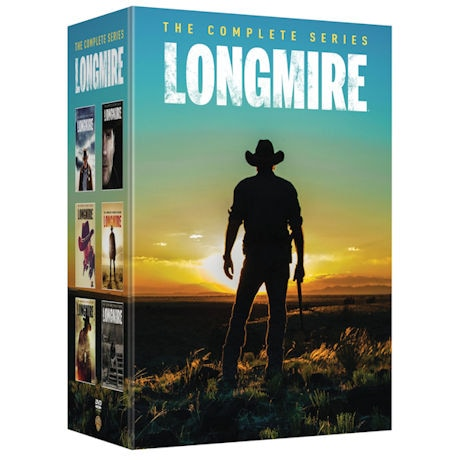 Longmire: The Complete Series DVD
