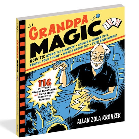 Grandpa Magic Paperback Book