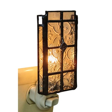 Victorian Glass Night Light