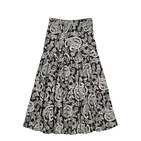 Reversible Broomstick Skirt