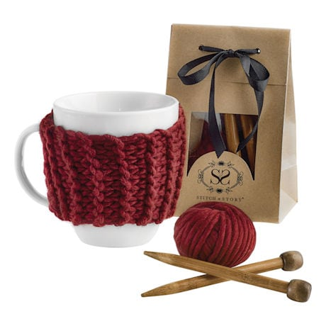 Cup Cosy Knitting Kit