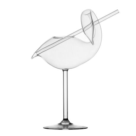 Swan Cocktail Glass