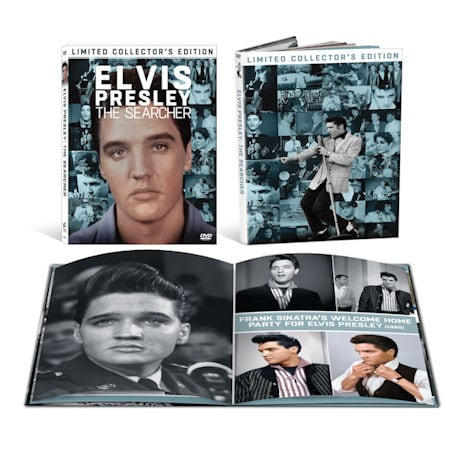 Elvis Presley: The Searcher Collector's Edition DVD & Hardcover Book
