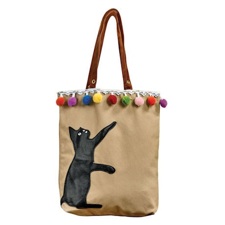 Playful Kitty Tote