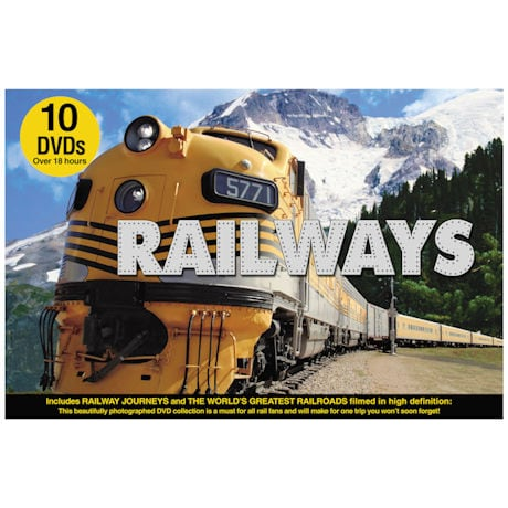 Railways: The Ultimate Railroad Experience DVD