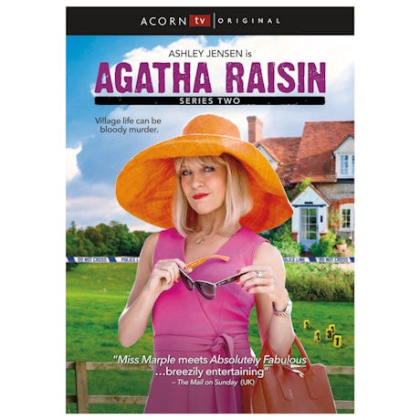 Agatha Raisin Series 2 DVD Set