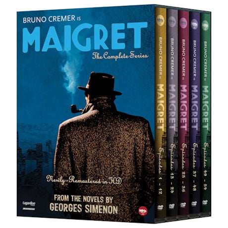 Maigret: The Complete Series DVD Set
