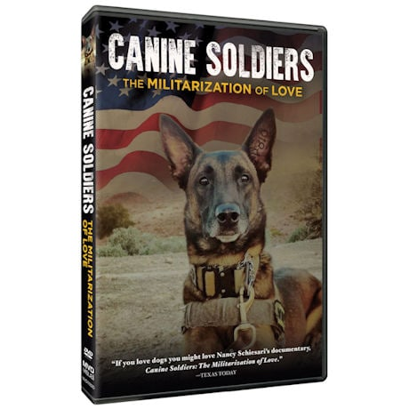 Canine Soldiers DVD