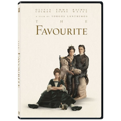 The Favourite DVD & Blu-ray