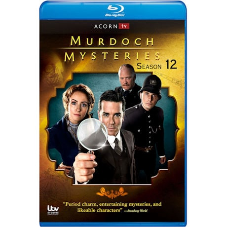 Murdoch Mysteries Season 12 DVD & Blu-ray