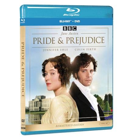 Pride & Prejudice DVD + Blu-ray Combo