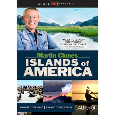 Martin Clunes Islands of America DVD
