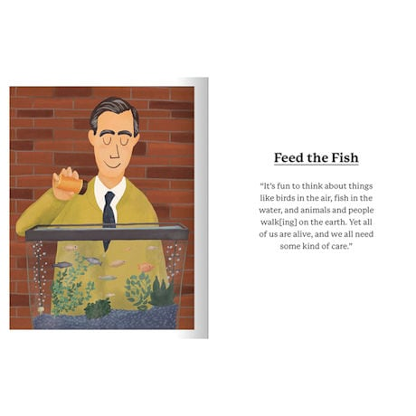 Everything I Need to Know I Learned from Mister Rogers' Neighborhood Hardcover Book