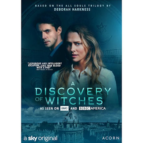 A Discovery of Witches DVD or Blu-ray
