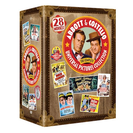 Abbott & Costello: The Complete Universal Pictures Collection DVD