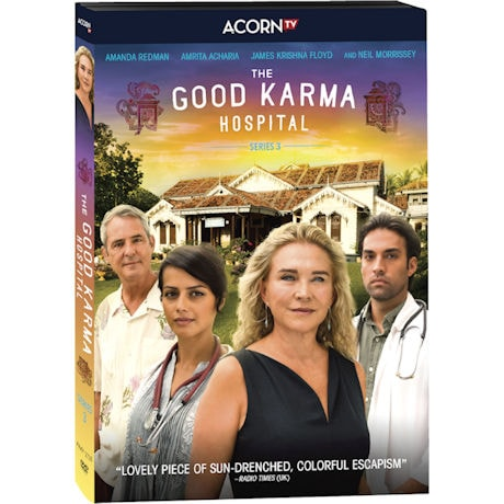 Good Karma Hospital Season 3 DVD & Blu-Ray