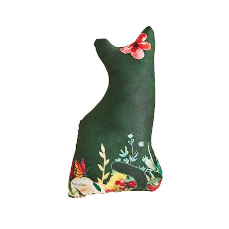Garden Print Cat Pillows