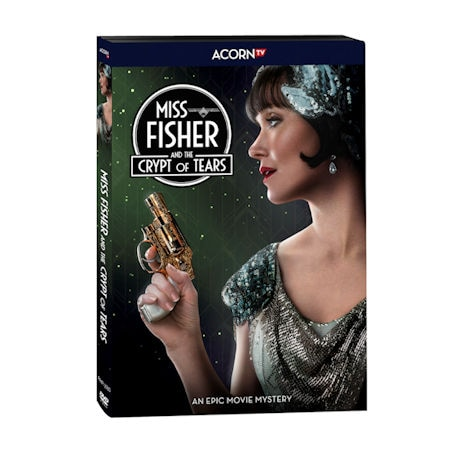 PRE-ORDER Miss Fisher & The Crypt of Tears DVD & Blu-ray