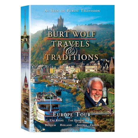 Burt Wolf Travels & Traditions DVD