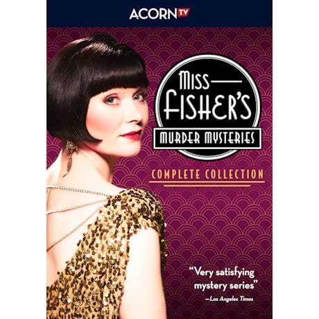 PRE-ORDER Miss Fisher's Murder Mysteries: Complete Collection DVD & Blu-ray