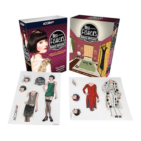 Miss Fisher's Murder Mysteries: Complete Collection DVD & Blu-ray
