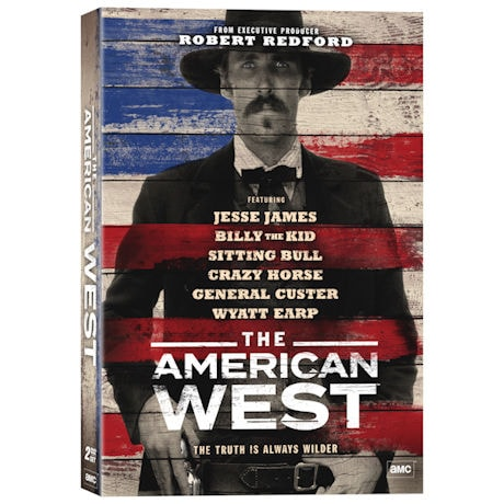 The American West DVD & Blu-ray