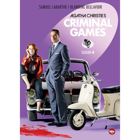 Agatha Christie's Criminal Games: Season 4 DVD