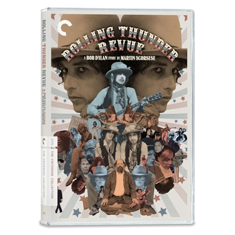 Rolling Thunder Revue: A Bob Dylan Story by Martin Scorsese DVD & Blu-ray