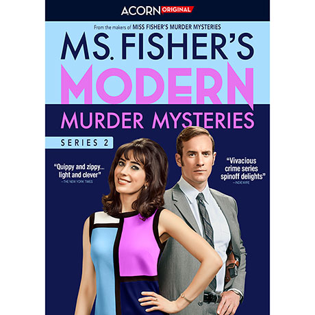 PRE-ORDER Ms. Fisher's Modern Mysteries Series 2