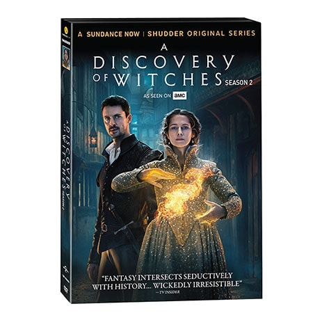 A Discovery of Witches Season 2 DVD & Blu-ray