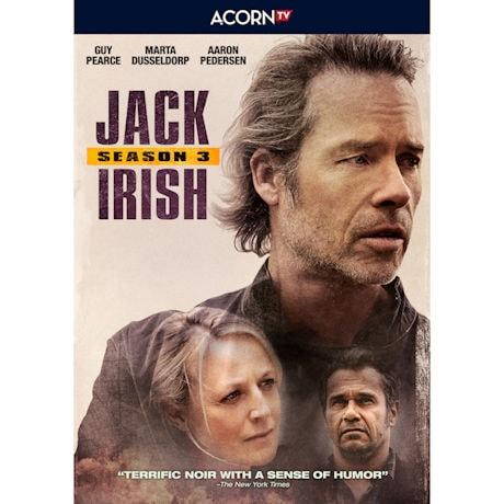 Jack Irish Season 3 DVD & Blu-ray