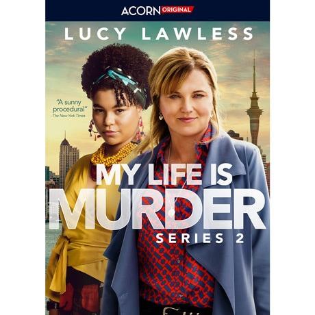 PRE-ORDER My Life Is Murder Season 2 DVD and Blu-ray