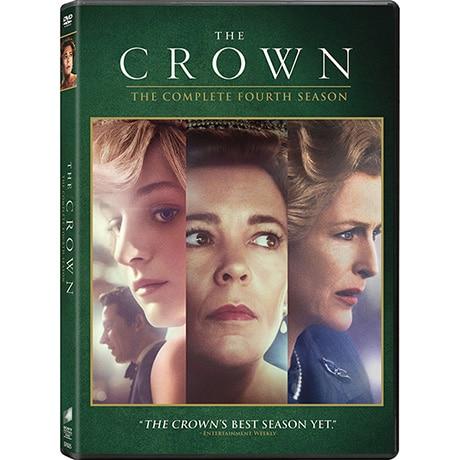 PRE-ORDER The Crown Season 4 DVD & Blu-ray