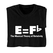 Music Theory of Relativity Shirts