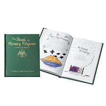Personalized Traditional English Nursery Rhymes Book