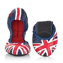 Butterfly Twists Ballet Flats - Union Jack