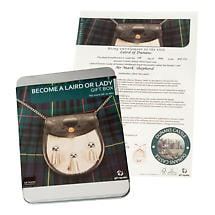 Become a Scottish Laird or Lady Kit