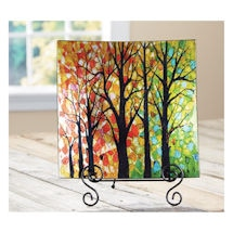 Walk In The Woods Plate With Easel